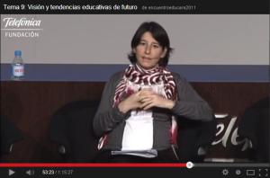 Intervención Fátima Sánchez en EIE Fundación Telefónica